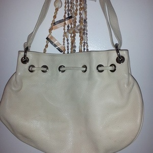 Furla Ivory/Bone Leather Shoulder Hobo Bag is being swapped online for free