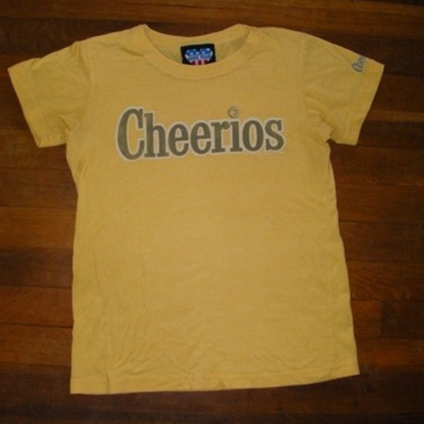 Junk Food Cheerios Tee T-Shirt Yellow M is being swapped online for free