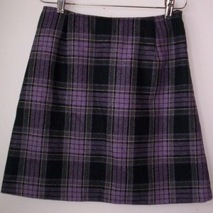Short Purple Black Burberry Skirt 4 is being swapped online for free