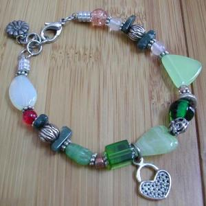 *Art Glass Anklet is being swapped online for free