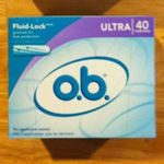 OB Ultra Tampons 40 count is being swapped online for free