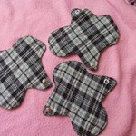 Reusable Menstrual Cloth Pads - Short Panty Liners is being swapped online for free