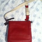 Dark Red Leather Coach Purse is being swapped online for free