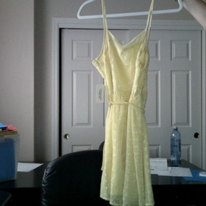 Yellow Forever21 Dress medium is being swapped online for free