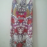 Wet seal ed hardy looking studded long tank is being swapped online for free