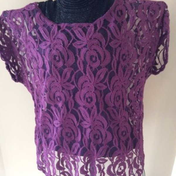 Lane Bryant Prple Lace sheer top is being swapped online for free