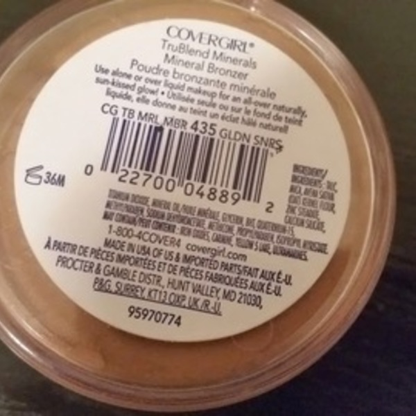 CoverGirl Trublend Minerals Bronzer is being swapped online for free