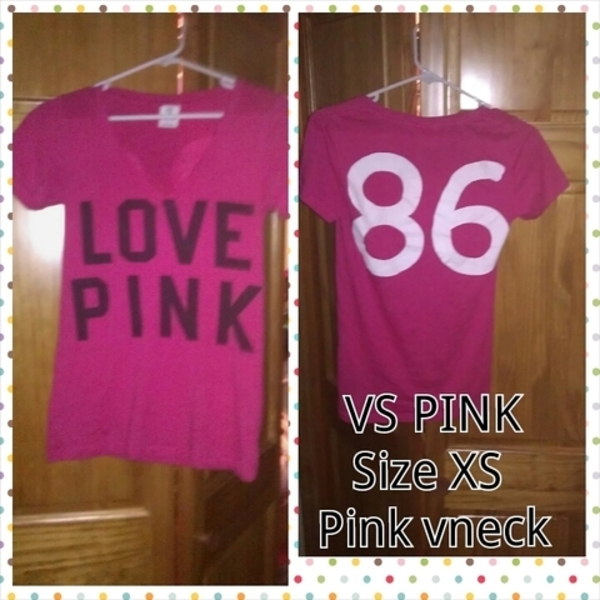 VS PINK tee PINK :) is being swapped online for free