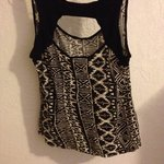 Black And White Tribal M Tank (Wet Seal) is being swapped online for free