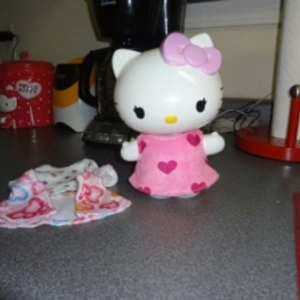 Hello Kitty bubble bath decanter is being swapped online for free