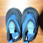 size 5 baby toddler aqua water shoes laguna brand is being swapped online for free