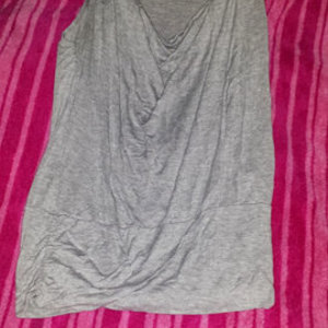 grey blouse is being swapped online for free