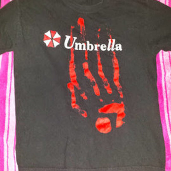 Resident Evil Umbrella shirt is being swapped online for free