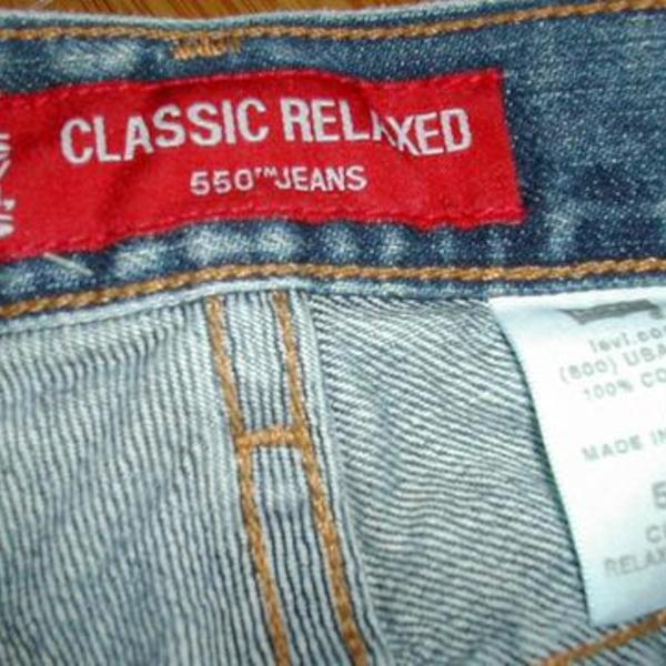 Levi's Classic Relaxed 550 Jeans is being swapped online for free