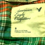 American Eagle Plaid button-up is being swapped online for free