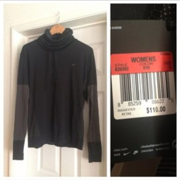 NWT nike women's size L is being swapped online for free