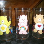 Vintage Care Bear Glasses is being swapped online for free