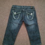 Jean capris size 5/6 is being swapped online for free