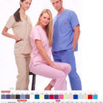 Medical Scrubs in every size is being swapped online for free