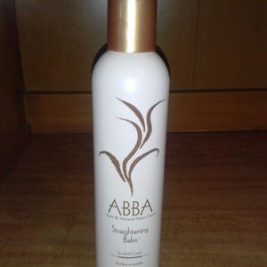 salon pro Abba straightening balm. is being swapped online for free