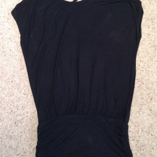 New Look Black Cami Top/ Dress - Size 6. is being swapped online for free