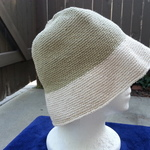 Green/Cream Cotton Hat is being swapped online for free
