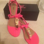 Super fun buckle sandals SZ 10 is being swapped online for free