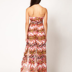 Asos Lipsy maxi leopard dress is being swapped online for free