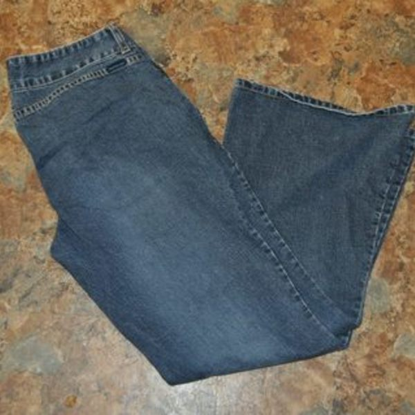 weathervane size 13 womens jeans is being swapped online for free