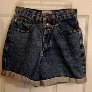High-Waist denim shorts is being swapped online for free