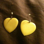 Yellow Heart Earrings is being swapped online for free