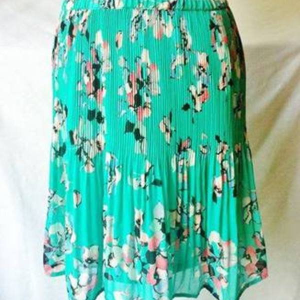 NWT Elle Chiffon Layer Skirt Size XL is being swapped online for free