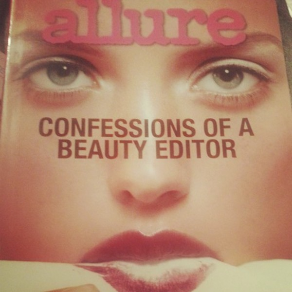 allure confessions of a beauty editor hard cover book beauty tips is being swapped online for free