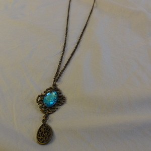Pretty Long Blue Necklace is being swapped online for free