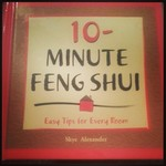 10 minute feng shui hard cover book is being swapped online for free