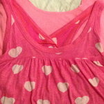 VS Pink and White Heart Tank is being swapped online for free