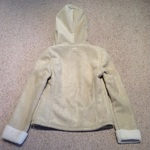 Papaya Beige Sheepskin Jacket - size 6.  is being swapped online for free