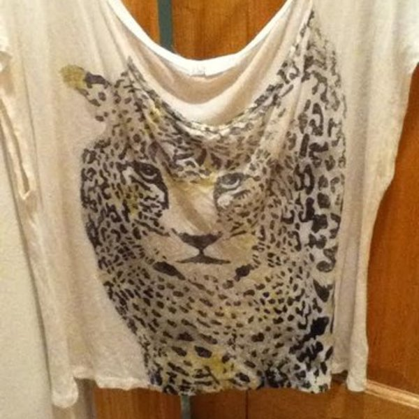 Forever 21 Cheetah Print Top  is being swapped online for free