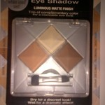 Wet/Dry Eye Shadow Baked Collection is being swapped online for free