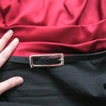 Red and Black Business Dress (M) is being swapped online for free