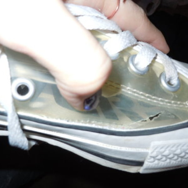 Clear Converse is being swapped online for free