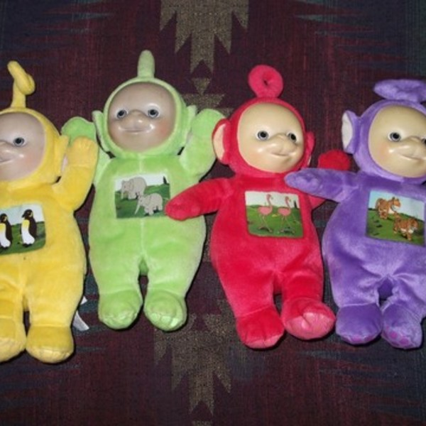 Teletubbies Stuffed Animals Set is being swapped online for free
