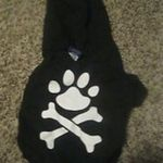 NWT Old Navy XS Paw and Crossbones Doggie Hoodie is being swapped online for free