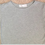 New Look Grey Jersey Crop Top - Size UK 12.  is being swapped online for free