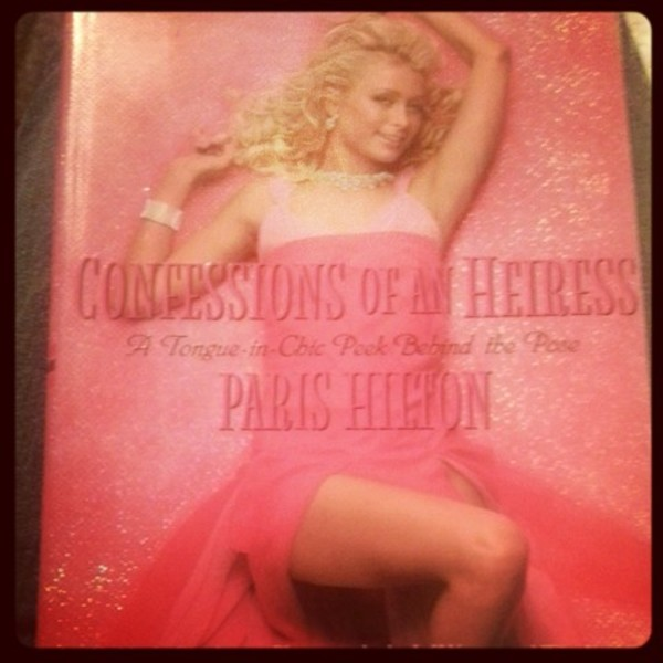 confessions of an heiress hard cover book by paris hilton is being swapped online for free