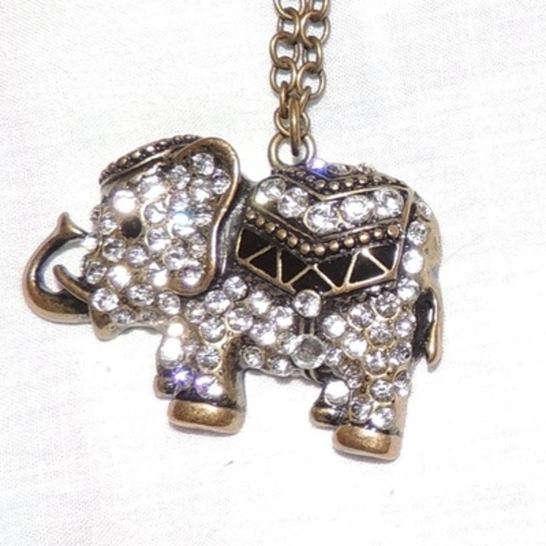 Elephant necklace and key necklace! is being swapped online for free