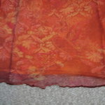 Long Skirt w/ Orange Flowers, Size S is being swapped online for free