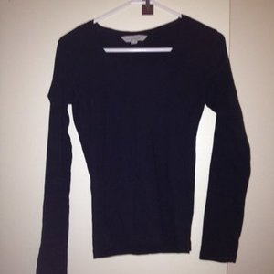 Emerson plain black long sleeve tee is being swapped online for free