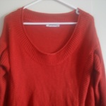 Loving Things Orange Knit Sweater XL is being swapped online for free