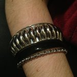 Black & Silver Bangle Bundle is being swapped online for free